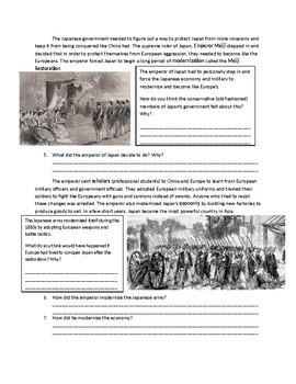 Global 1: Meiji Restoration