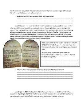 Global 1: Origins of Christianity