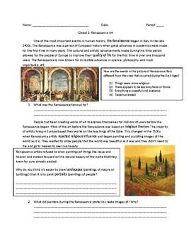 Global 1: Renaissance Art