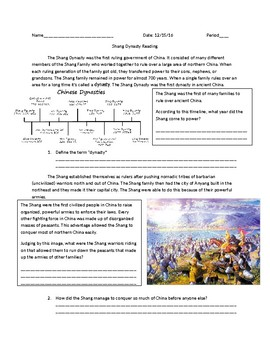 Global 1: The Shang Dynasty