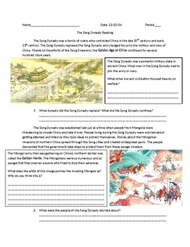 Global 1: The Song Dynasty