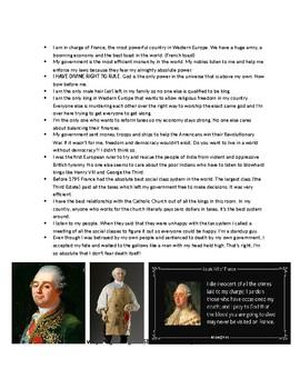 Global 2: Absolute Rulers Socratic Seminar