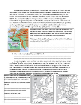 Global 2: Effects of World War One/First World War