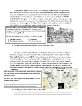 Global 2: Effects of World War One/First World War
