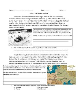 Global 2: WWII The Battle of Stalingrad