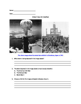 Global 4 exam- mixed subject