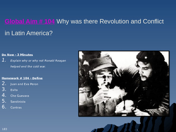 Global Aim # 104 Why was there Revolution and Conflict in