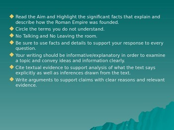 Global Aim # 11 How did the Roman Republic become the Roman Empire?