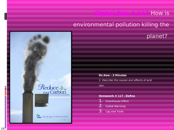 Global Aim # 117 How is environmental pollution killing the planet?