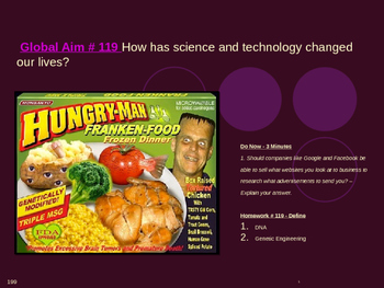 Global Aim # 119 How has science and technology changed our lives?