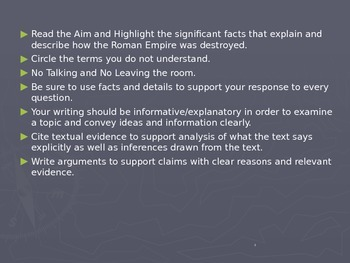 Global Aim # 12 What was Pax Romana, and why did it end?