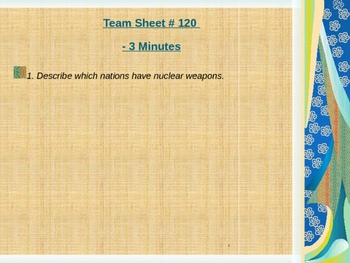 Global Aim # 120 Is there still a Nuclear Menace?