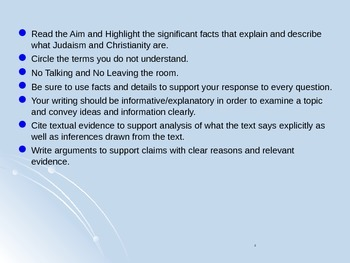 Global Aim # 15 What are Judaism and Christianity?