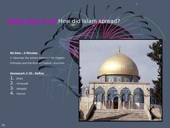 Global Aim # 20 How did Islam spread?