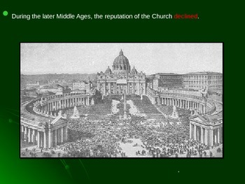 Global Aim # 30 What was the Reformation and the Counter Reformation?