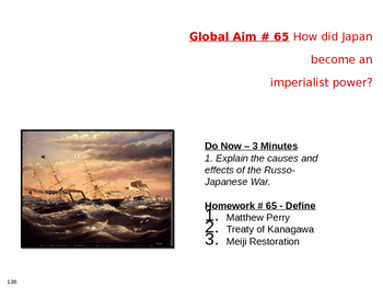 Global Aim # 65 How did Japan become an imperialist power?