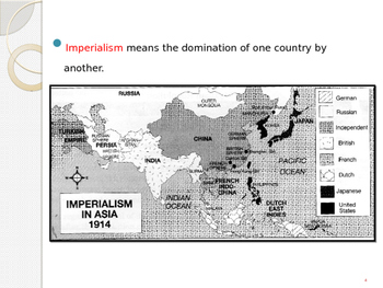 Global Aim # 69 What resulted from global Imperialism?