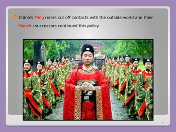 Global Aim # 71 What were the European Spheres of Influence in China?
