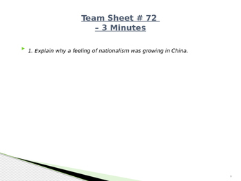 Global Aim # 72 Who was Sun Yat-sen?