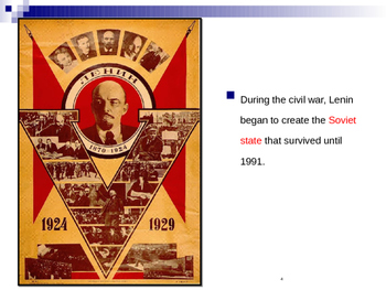Global Aim # 78 What led to Lenin and Stalin's totalitarian State?