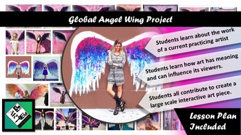 Global Angel Wings: Creating an Interactive Art Installation Middle School
