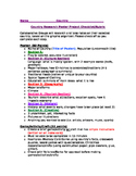 Global Awareness Country Research Project, research checklist, parent letter