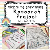 Global Celebrations Research Project - History (HASS) Flipbook -  Year 3