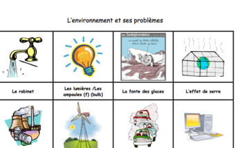 Global Challenges / Environment Activities & Assessments Compilation