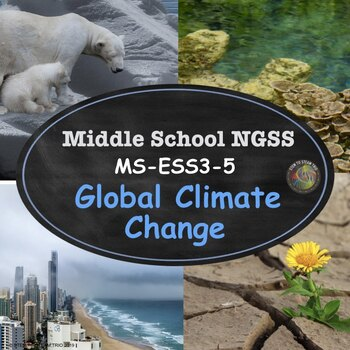 Global Climate Change:  NGSS: MS-ESS3-5