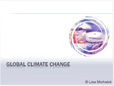 Global Climate Change PowerPoint Presentation Lesson Plan