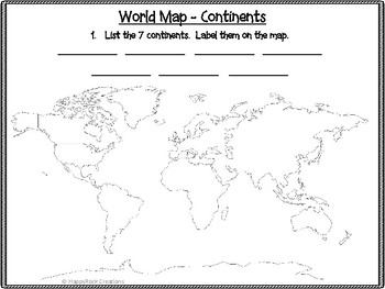 Global Communities Task Cards and Worksheets