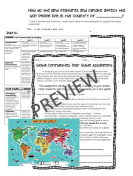 Global Communities Tour Guide Assignment