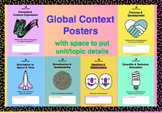 Global Context Posters International Baccalaureate PYP MYP DP Next Chapter