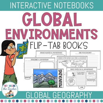 Global Environments Flip-Tab Books