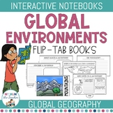 Geography: Global Environments Flip-Tab Books