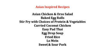 Global Foods Asian Recipes