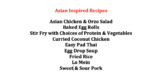 Global Foods Asian Recipes