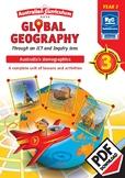 Global Geography – Australia's Demographics – Year 3