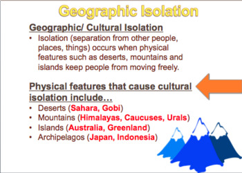 Global Geography Review Day 2 PPT, Map and Fill-in Sheet