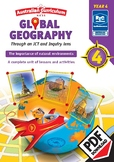 Global Geography – The Importance of Natural Environments – Year 4