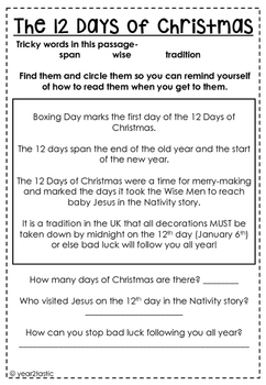 Global Glitter Tribe Holidays Around the World FREEBIE- Christmas in the UK