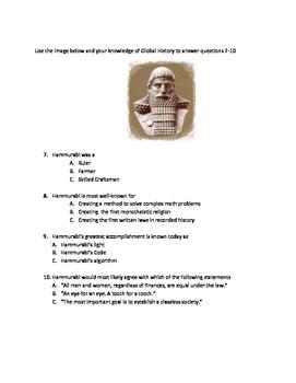 Global History 1 Final Exam