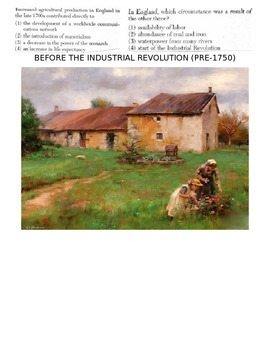 Global History 10th Grade - Unit 23 Agrarian & Industrial Revs - Day 2 Handout