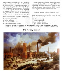Global History 10th Grade - Unit 23 Agrarian & Industrial Revs - Day 4 Handout