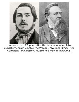 Global History 10th Grade - Unit 24 Capitalism & Communism - Day 2 Handout
