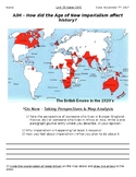 Global History - 10th Grade - Unit 25 - Age of New Imperialism - Handout 4