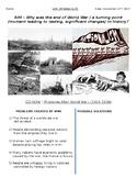 Global History - 10th Grade - Unit 29 - Between World Wars I & II - Handout 1