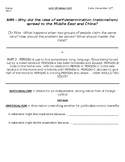 Global History - 10th Grade - Unit 29 - Between World Wars I & II - Handout 2