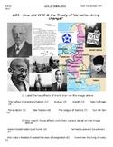 Global History - 10th Grade - Unit 29 - Between World Wars I & II - Handout 4