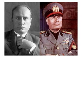 Global History 10th Grade - Unit 30 Rise of Fascism Post-WWI - Day 2 Handout
